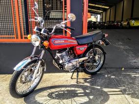 Honda Honda Cg 125 1981 Honda Cg 125 81 Nova