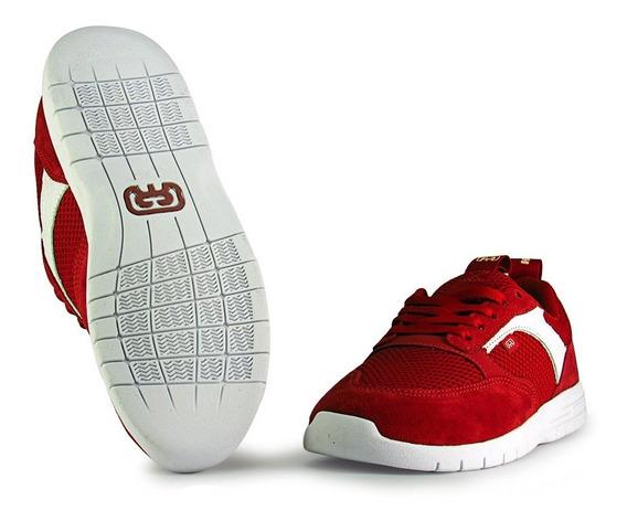 Tênis Hocks Born Red Vermelho Confortável Original