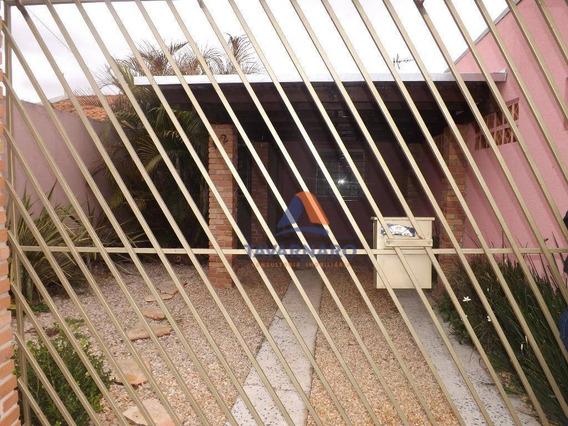 Casa Com 2 Dormitórios Para Alugar, 52 M² Por R$ 650,00/mês - Cará-cará - Ponta Grossa/pr - Ca0735
