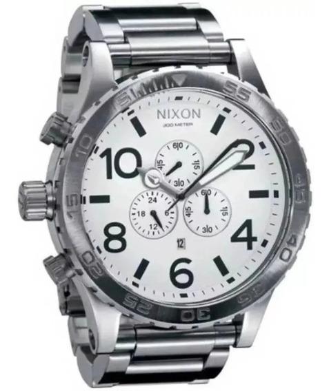 Relógio Gt65 Nixon A083-100 Linha Prata Promocional