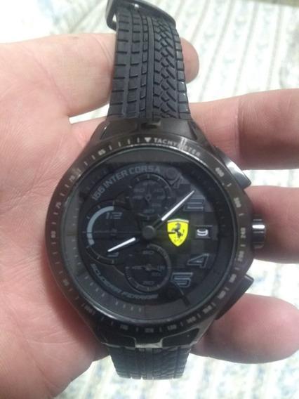 Relógio Ferrari Scuderia Intercorsa Black
