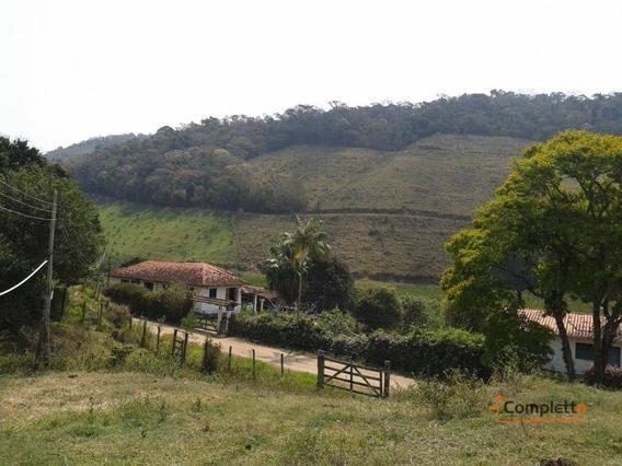 Excelente Sítio /chácara Com 1 Casarão E 2 Casas Externa - Barra De Piraí - Ch0002