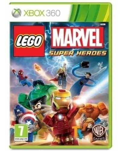 Lego Marvel Super Heroes Xbox360 Mídia Física Lacrado
