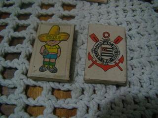 2 Caixas De Fósforos Antigos Copa 70 , Corinthians