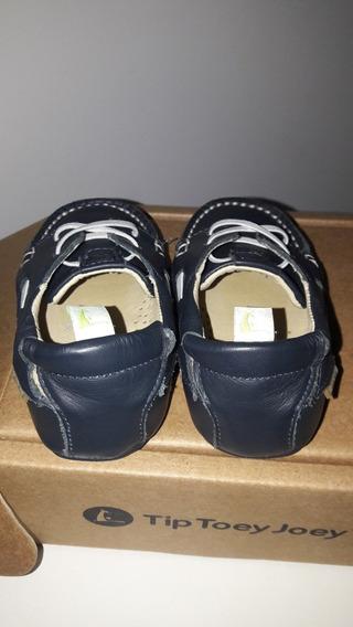 Sapato Social Infantil Usado Azul Marinho Mocassim
