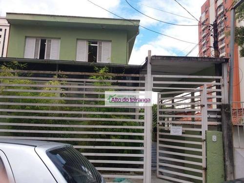 Sobrado Com 3 Dormitórios, 320 M² - Venda Ou Aluguel - Saúde - São Paulo/sp - So0837