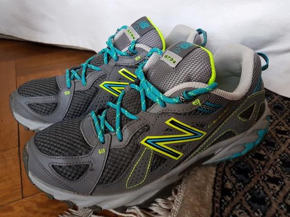 Zapatillas New Balance 573v2 Trail Running-como Nuevas-1 Uso
