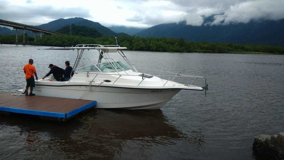 Lancha Fishing 28 Wa Impecável