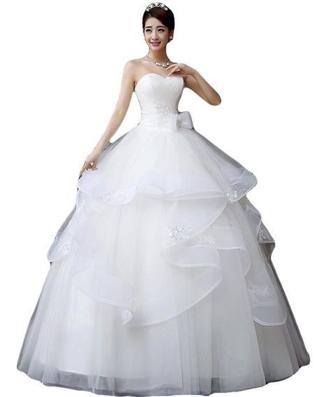 Vestidos De Novia Elegante Hermoso Barato Princesa Nuevo