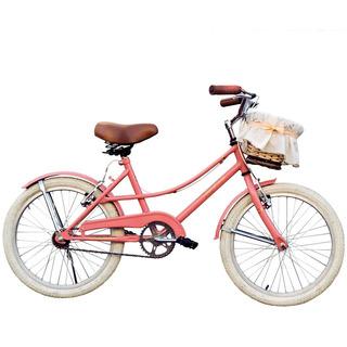 Bicicleta Niña Vintage Rodado 20 - Canasto Mimbre. Hermosa!