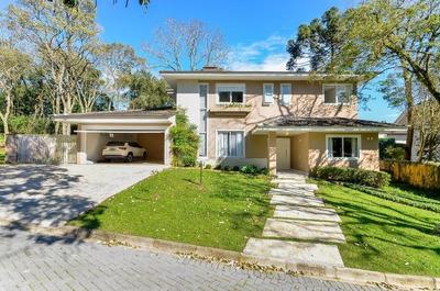 Casa Com 4 Dormitórios À Venda, 487 M² Por R$ 2.900.000 - Santa Felicidade - Curitiba/pr - Ca0103
