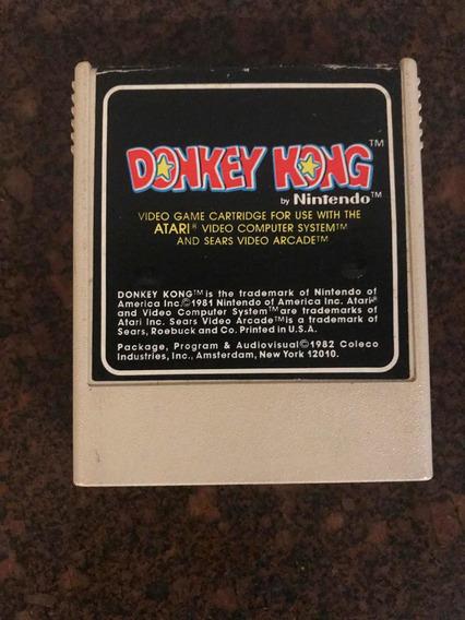 Cartucho Atari Donkey Kong By Nintendo