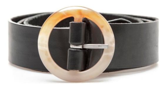 Cinturon Sadie Negro Las Pepas