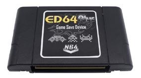 Flashcard Ed64 Plus Nintendo 64 Cartucho N64 Everdrive + Sd