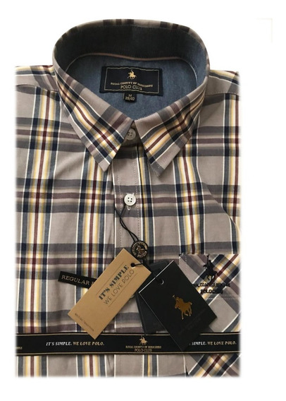 Camisa Polo Club Seattle Cuadros W18004