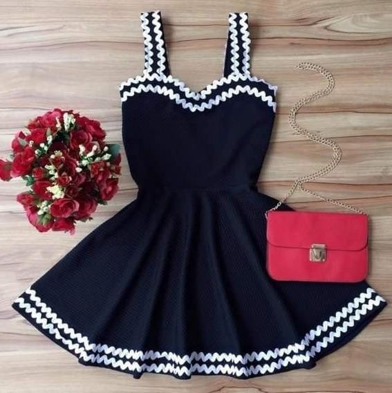 Vestidos Boneca Neoprene