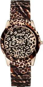 Relógio Feminina Guess 92527lpgsra1 Animal Print Onça
