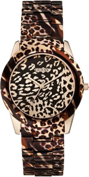 Relógio Feminina Guess Onça 92527lpgsra1 Garantia C/ Nfe
