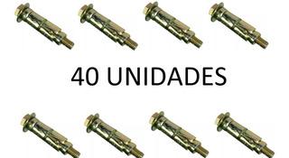 Ramplug Metalico 3/16 5mm Tornillo X 40 Unidades Anclaje
