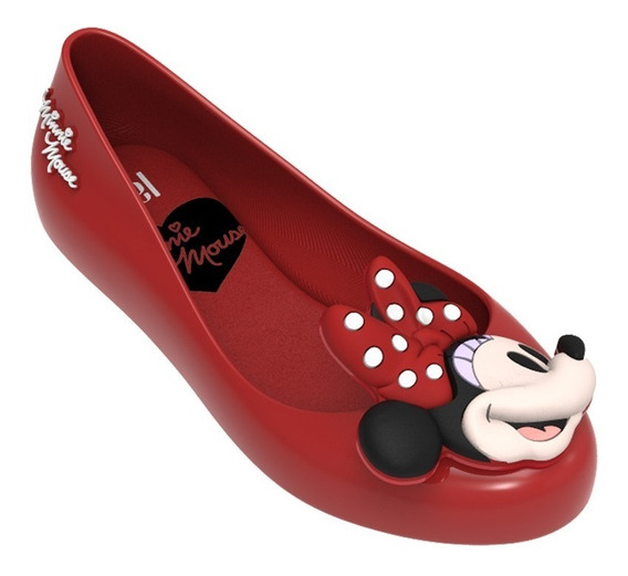 Sapatilha Melissa Mel Sweet Love + Minnie