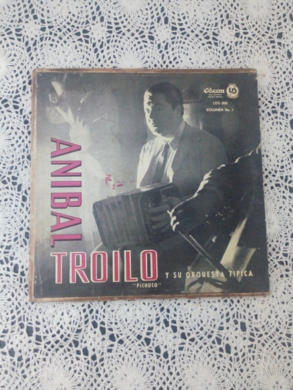 Pichuco Anibal Troilo Y Su Orquesta Típica (disco Vinilo)