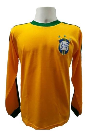 Camisa Retrô Nelinho Seleção Brasileira 1978