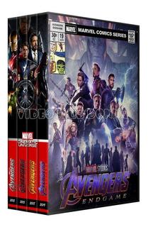 Colección Saga Marvel Avengers Vengadores 4 Dvd