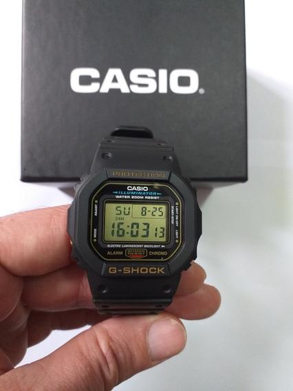 Relógio G-shock Dw-5600eg 9vq (série Ouro) - Colecionador