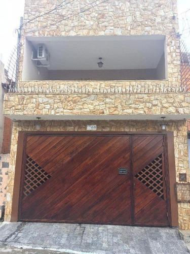 Imagem 1 de 30 de Sobrado Com 3 Dormitórios À Venda, 180 M² Por R$ 600.000,00 - Limoeiro - São Paulo/sp - So1858