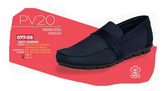 Zapato Azul Marino 077-06 Cklass Primavera-verano 2020