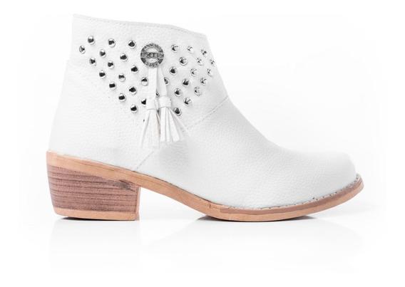 Botas Botitas Zapatos Mujer Botinetas Caña Baja Texanas Moda Primavera Verano 2019 Cuero Ecológico