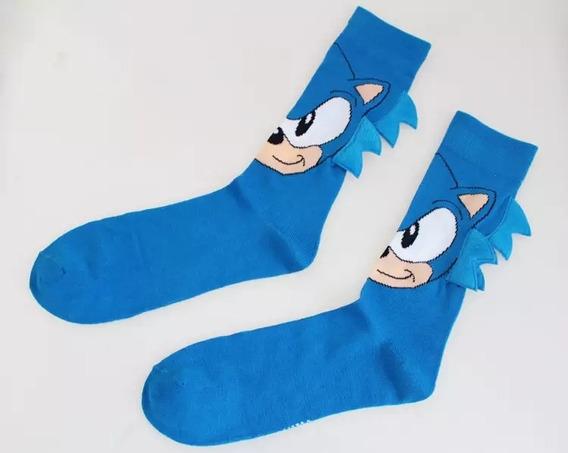 Par De Meias Sonic Sega