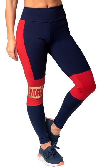 Roupa Feminina Legging Moda Fitness Recortes 926