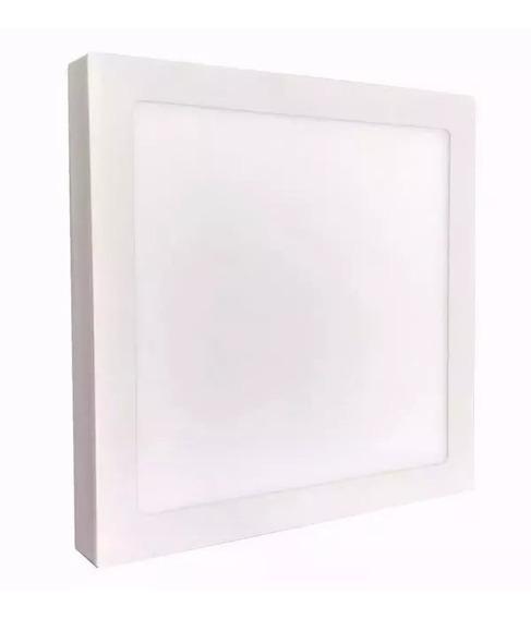 Plafon Sobrepor Quadrado Led 48w Painel Bivolt 60x60 Branco Frio /branco Quente 6500k 3000k