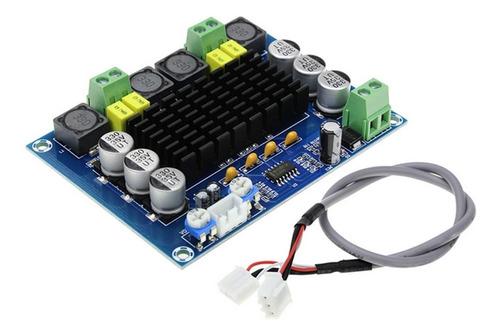 Imagem 1 de 6 de Placa Amplificador 2.0 Modulo 120+120 240w Rms Potencia