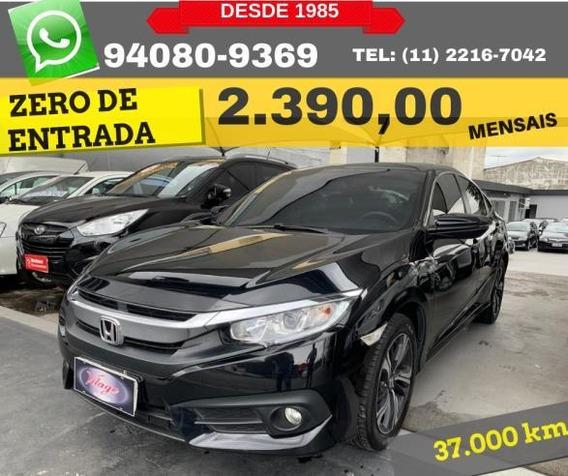 Honda Civic Ex Cvt 2017 Zero De Entrada