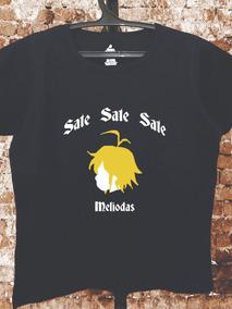 Camiseta Sete Pecados - Meliodas - Nanatsu No Taizai