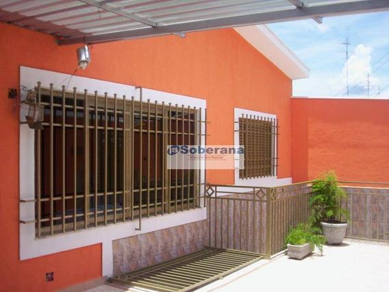 Casa Residencial À Venda, Vila Marieta, Campinas - Ca1785. - Ca1785