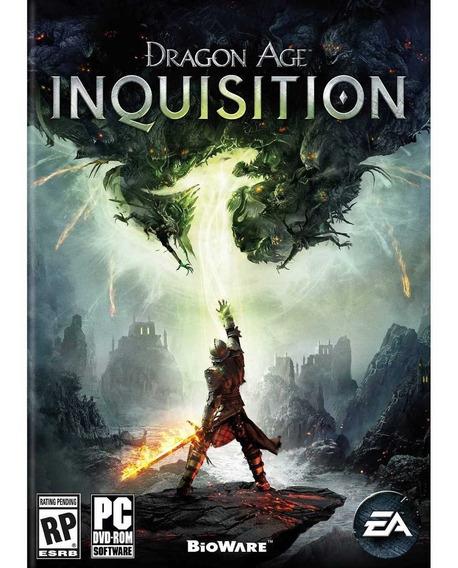 Dragon Age Inquisition Pc (mídia Física) Dvd