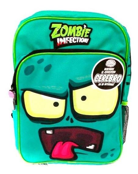 Zombie Infection Mochila Escolar 15 Bol Con Cerebro B15-a