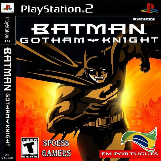 Batman Gotham Knights Pt-br Ps2 Patch
