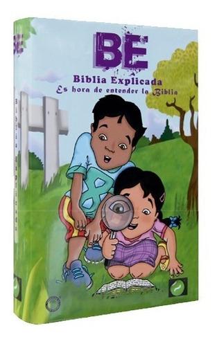 Biblia De Estudio Para Niños - La Biblia Explicada