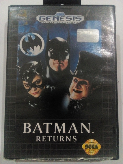 Batman Returns P/ Mega Drive Original Frete Cr $14