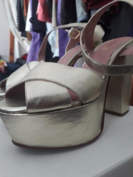 Zapatos De Fiesta Plataforma Sibyl Vane - Oferta!