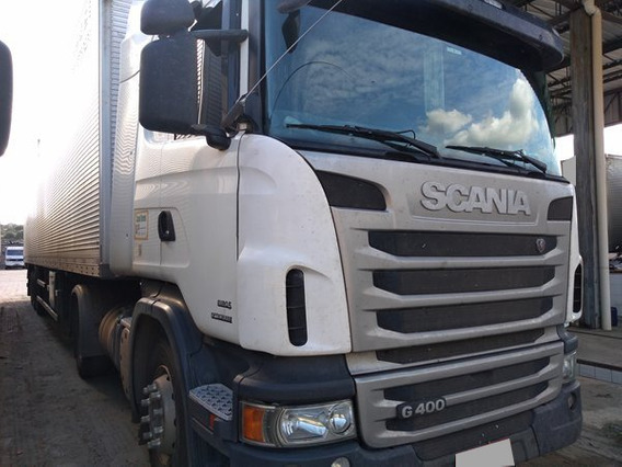 Scania G 400 A 4x2 Opticruize Ano 2013 Automática.