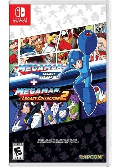 Mega Man Legacy Collection 1 E 2 Mídia Física - Frete Gratis