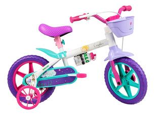 Bicicleta Infantil Caloi Cecizinha Aro 12 - Branco