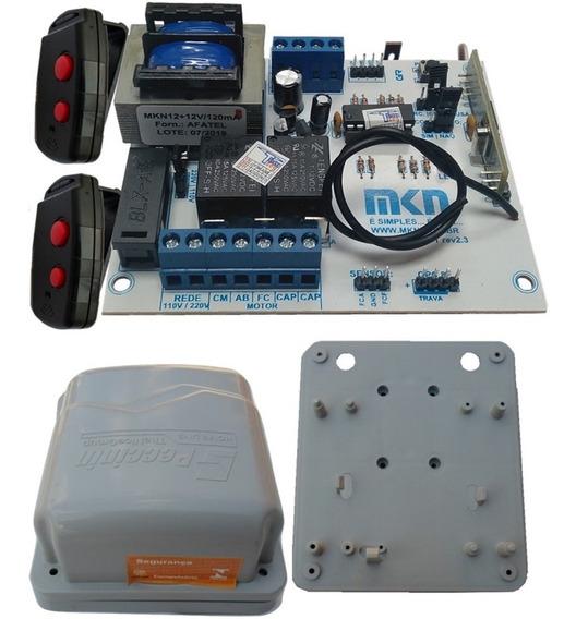 Kit Central Base E Tampa Com 2 Controles Bv Pv Gatter 3020