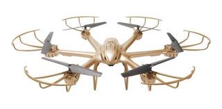 Drone MJX X601H con cámara HD dorado