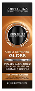 John Frieda Precision Color Refreshing Gloss Para Warm Brune